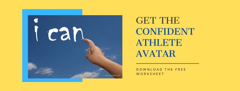 confident athlete avatar