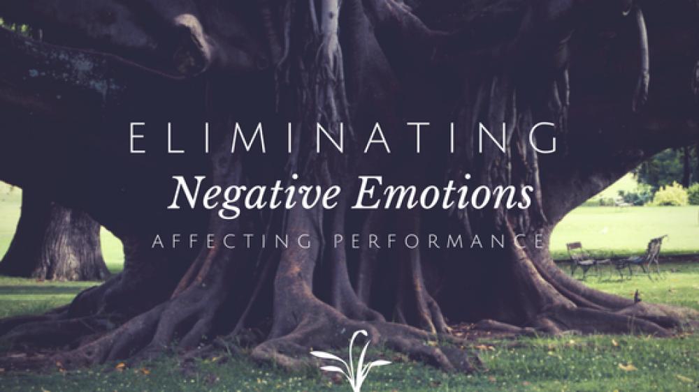 Eliminating Negative Emotions that affect Performance
