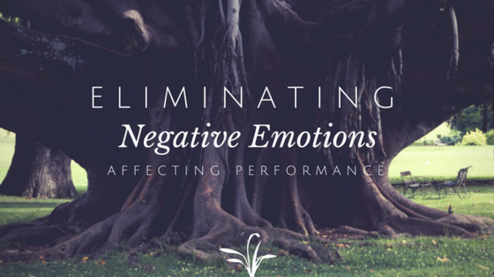 Eliminating Negative Emotions that affect Performance