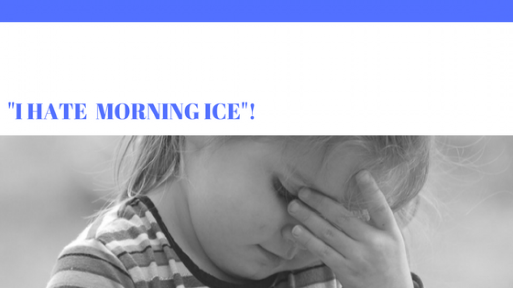 "5 Ways to Reframe, ""I hate morning ice""!"