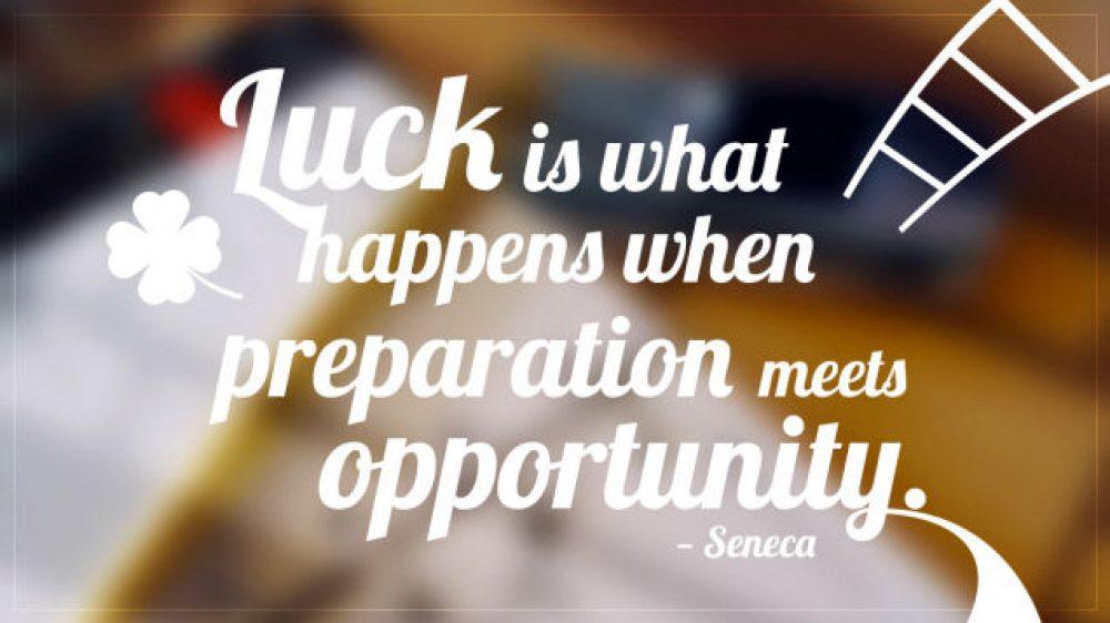 "Stop Saying ""Good Luck""!"