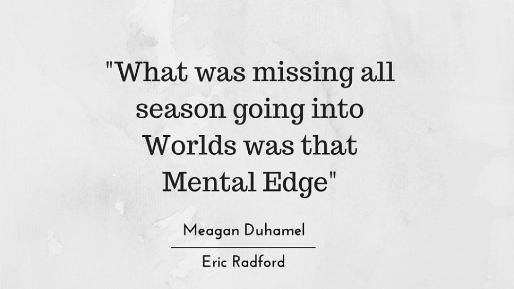 Meagan Duhamel and Eric Radford share Secrets to Success using Mental Training